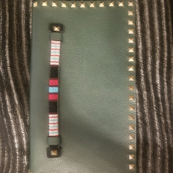 aafa6141cb Valentino Garavani Bags | Valentino Rockstud Medium Beaded Flap ...